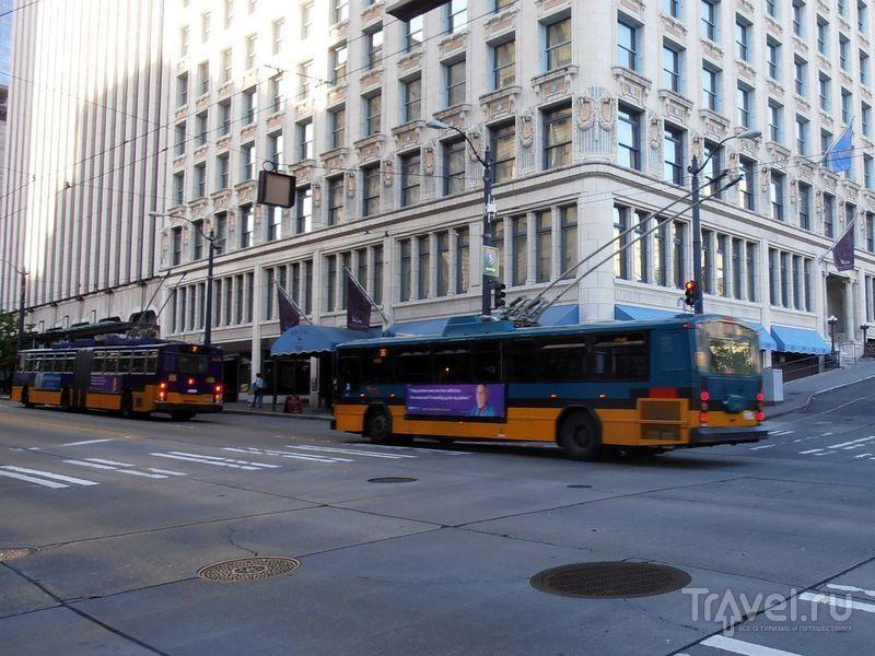 Транспорт для перемещений по США