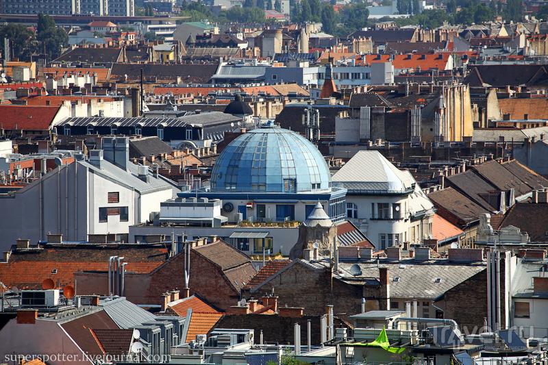 Будапешт. С панорамной площадки Базилики Святого Иштвана / Фото из Венгрии