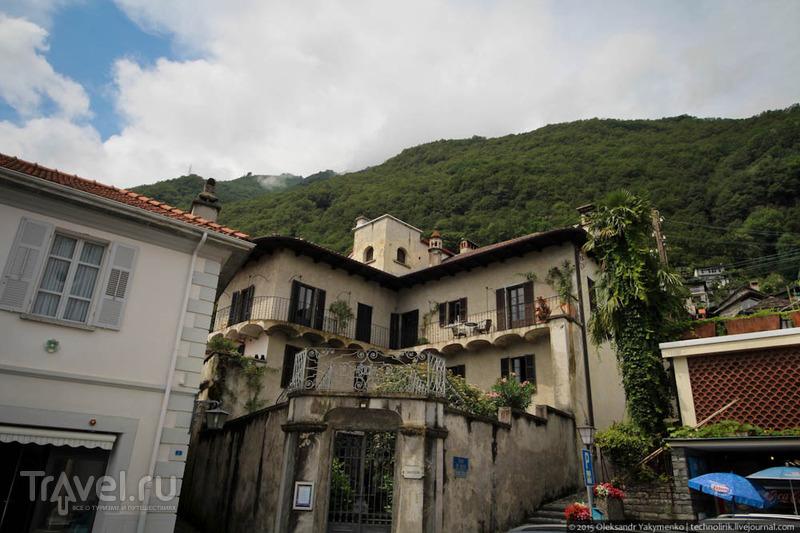 Ronco sopra Ascona - место, где провел последние годы жизни Э.М.Ремарк и где находится его могила / Фото из Швейцарии