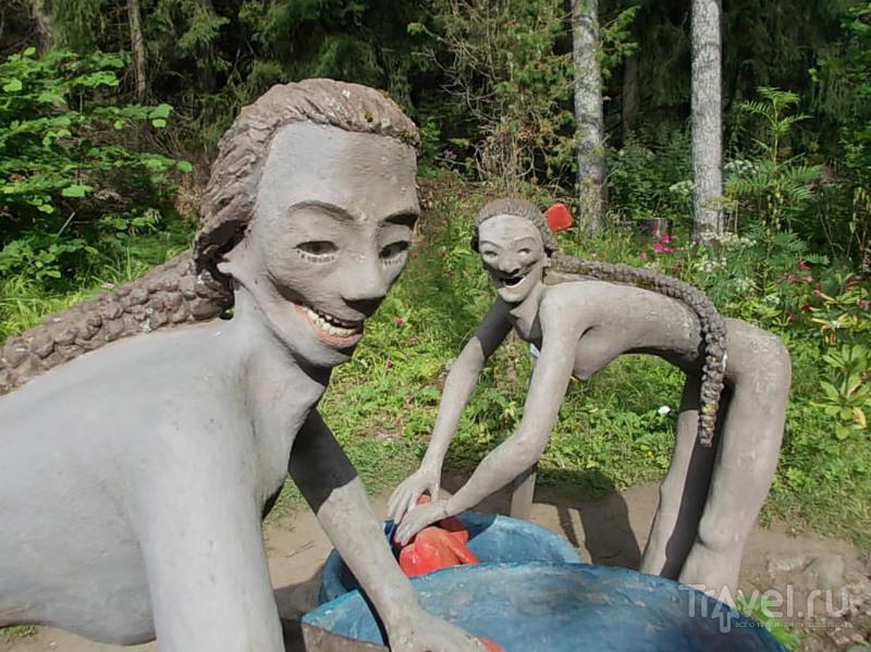 Финляндия. Парк Patsaspuisto / Финляндия