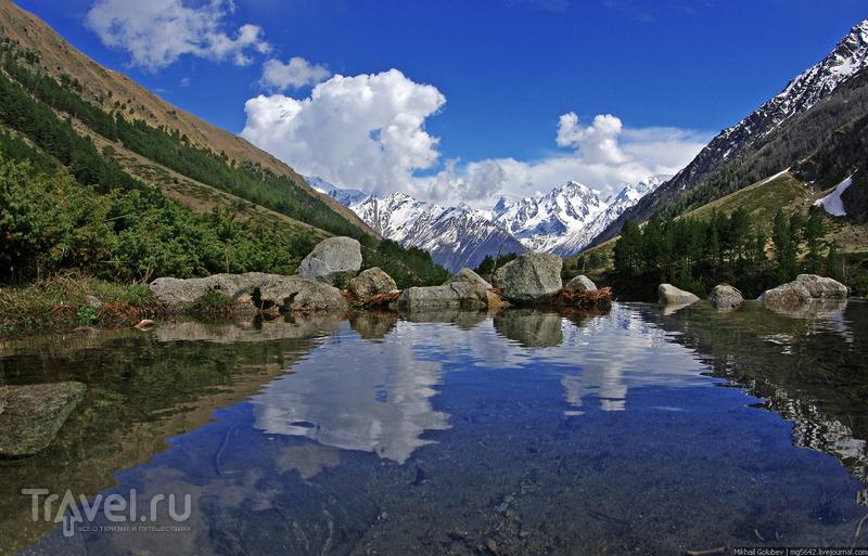 О вершинах Кавказа. Уллукара, Башкара и Бжедух / Фото из России
