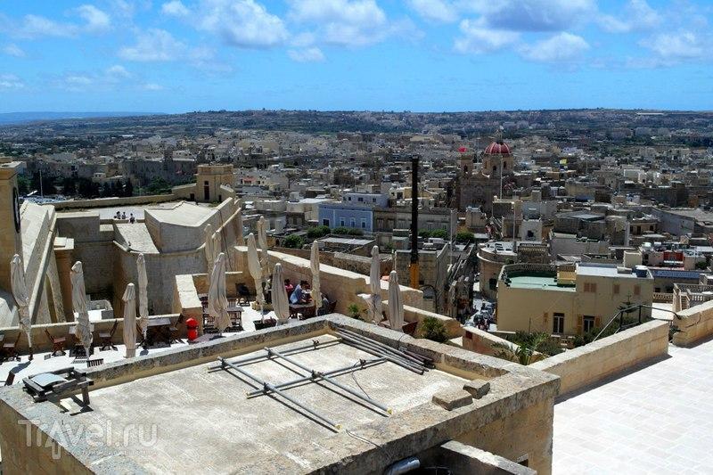 Виктория. Остров Гозо. Виды на город с цитадели / Мальта