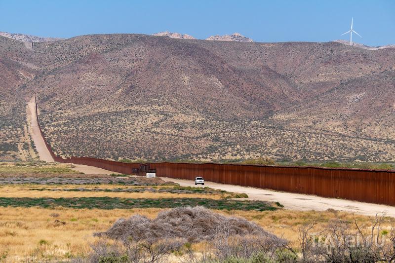 Калифорния. Монтерей, Сан-Диего, граница с Мексикой, Слаб-Сити и Алгодонские Дюны / Мексика