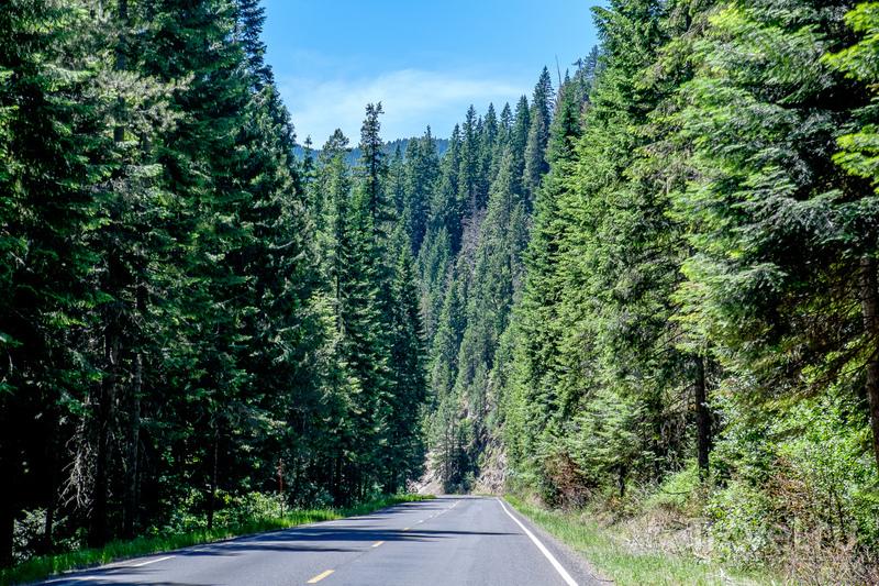 Айдахо и Вашингтон / США