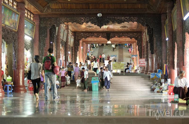 Шведагон / Фото из Мьянмы
