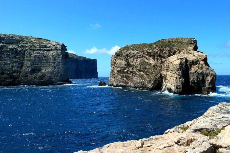 Остров Гозо. Мальта - Лазурное окно / Мальта