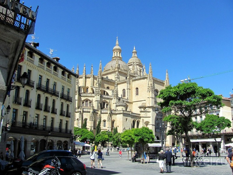 Сеговия: старый город и выезд за его пределы / Фото из Испании
