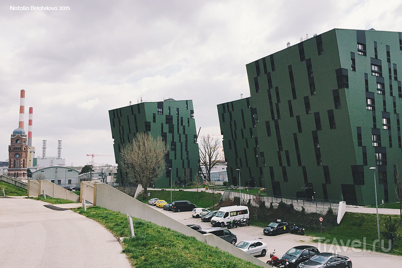 Венские газгольдеры / Австрия