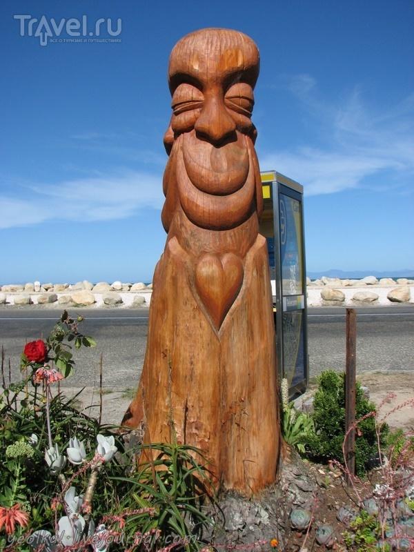 В стране антиподов. На севере Южного острова. Заповедник Абель Тасман. На каяках / Новая Зеландия