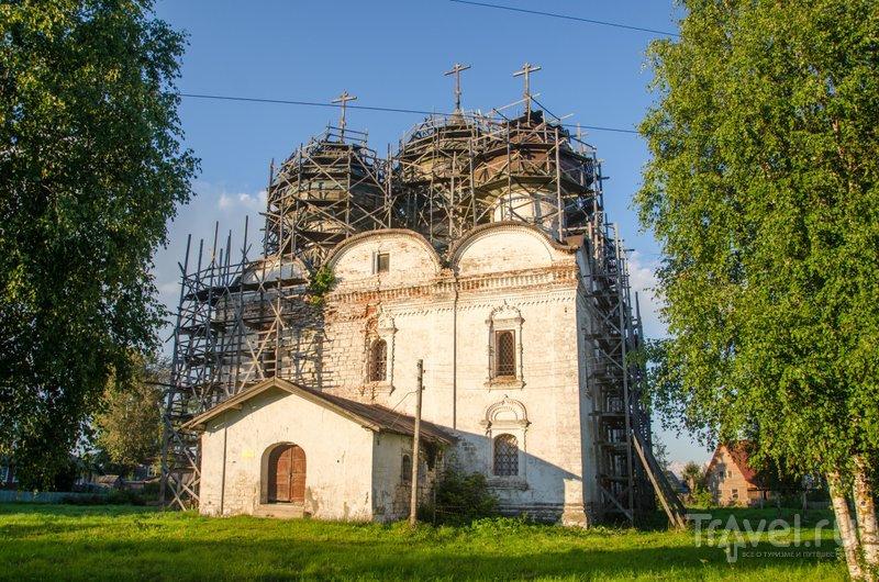 Воскресенская церковь конца XVII века / Фото из России