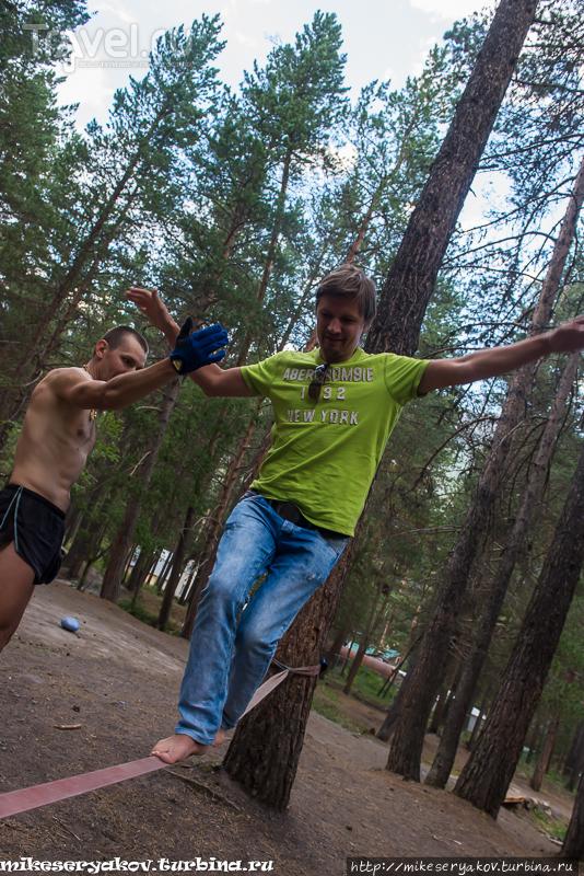 Прибытие в Терскол / Фото из России