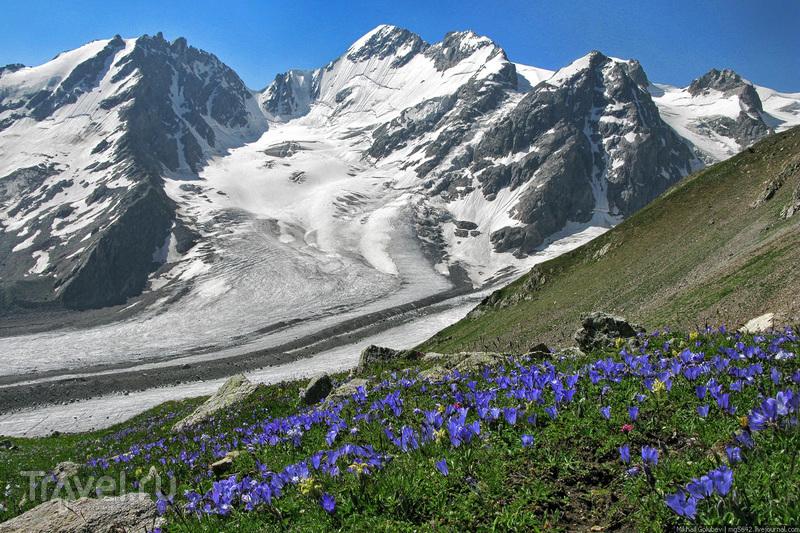 О вершинах Кавказа. Цихварга и Фытнаргин / Фото из России