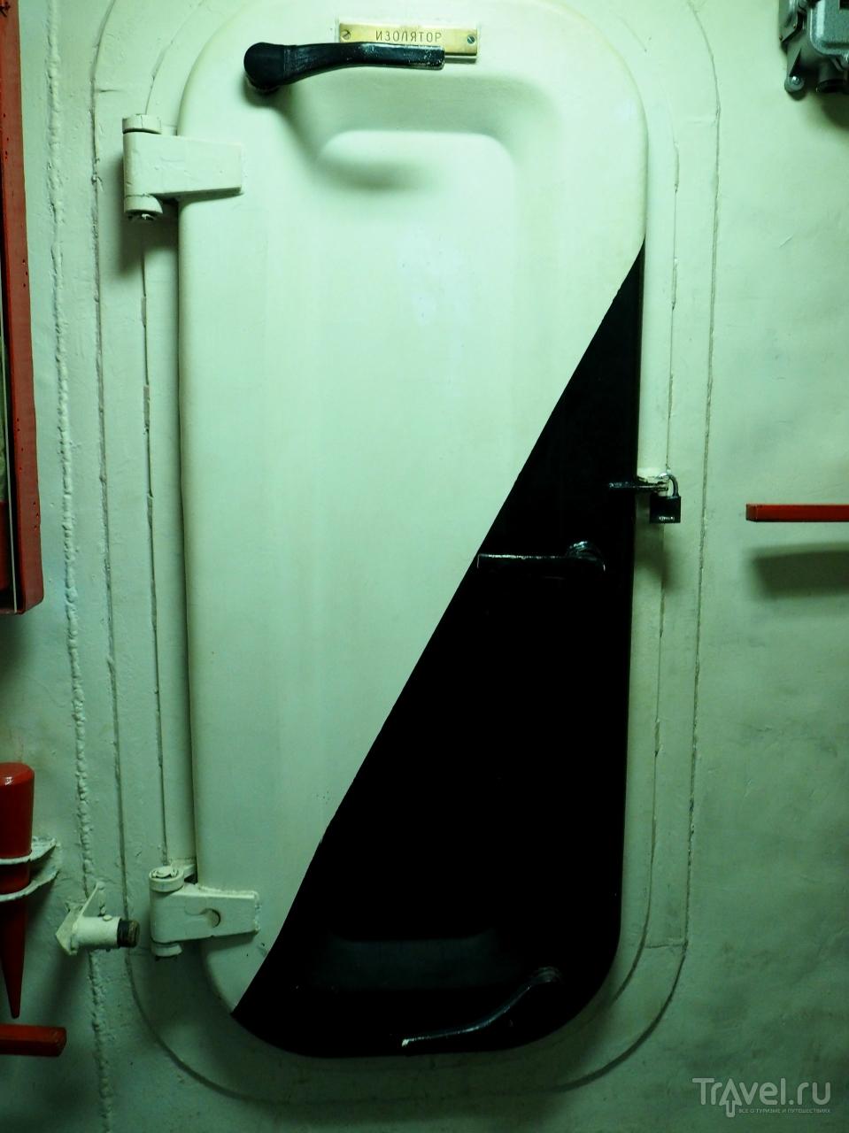 медчасть на подводной лодке