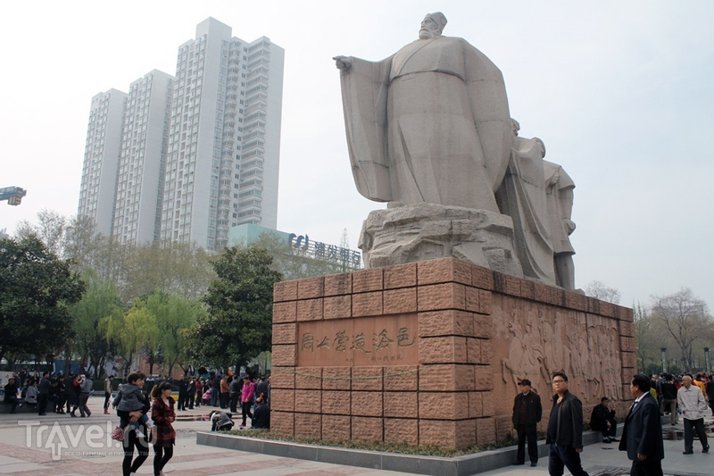 Китай: Лоян. Тусовка коммуняк, советская столовая и прочие вкусности / Китай