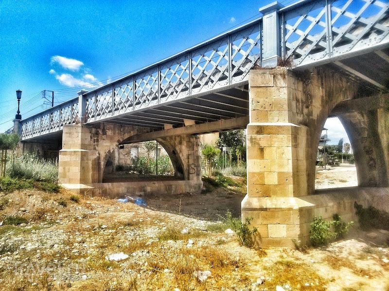 """Мост """"4 фонаря"""": ещё один технический памятник Лимассола / Кипр"""