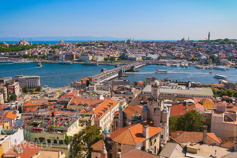 Типичный Стамбул. Галата, Истикляль, Новая Мечеть, Бломкамп и Рапунцель / Турция