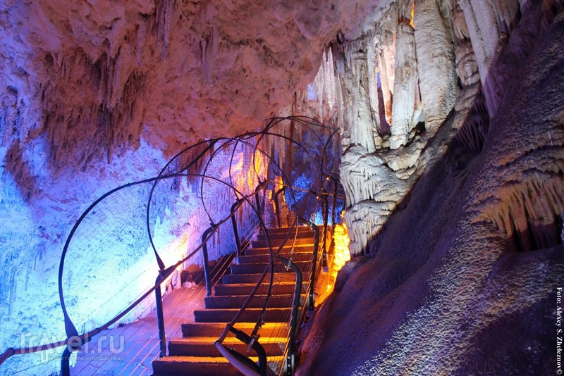 Сталактитовая пещера Сорек (Авшалома). Израиль / Израиль