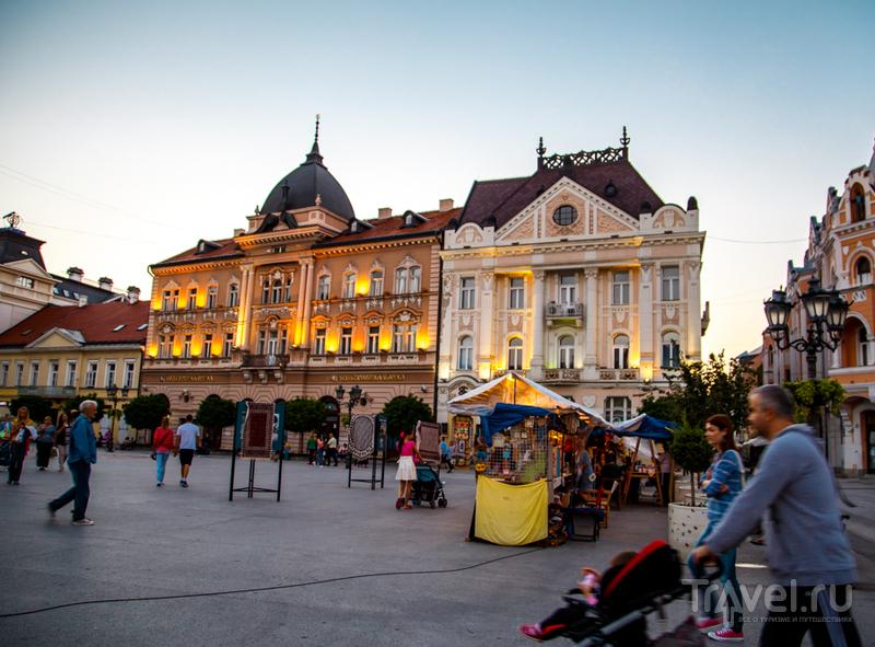 Вечерний Нови Сад / Фото из Сербии