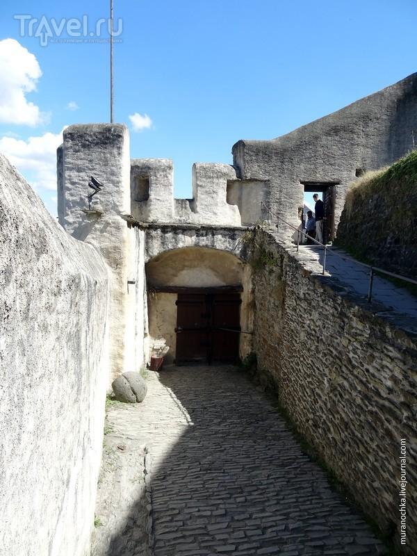 Германия: рыцарский замок Марксбург на Рейне / Германия