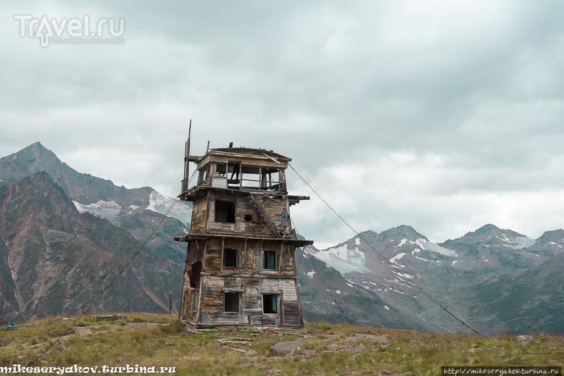 Эльбрус. Поход на пик Терскол / Фото из России