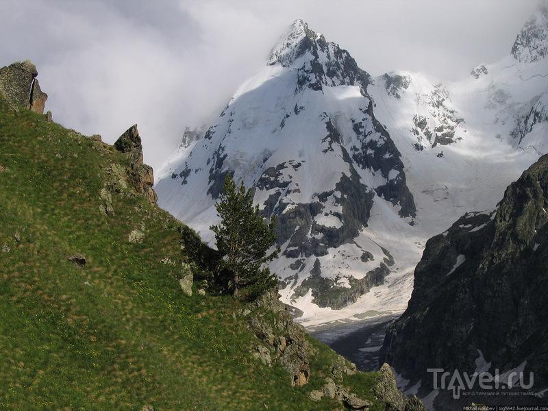 О вершинах Кавказа. Курмычи и Джантуган / Фото из России