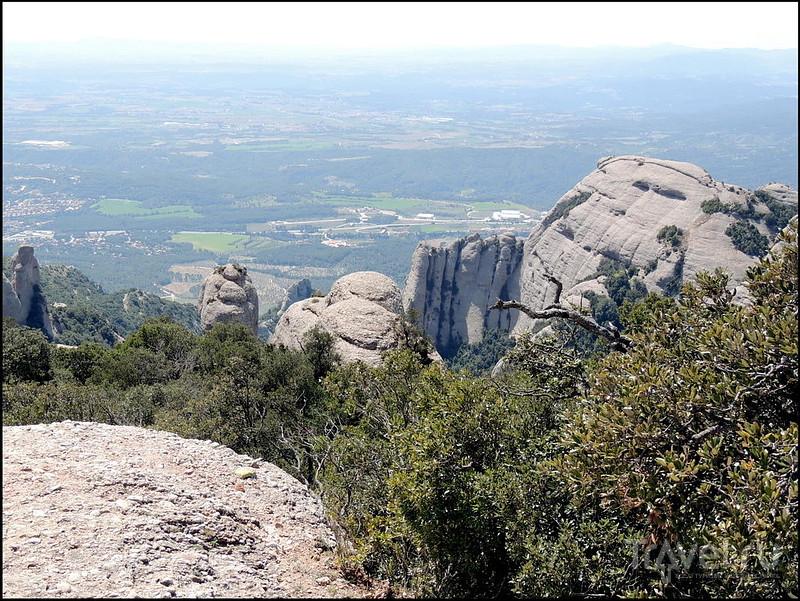 Горная страна Монсеррат. Спуск с 1236 метров / Испания