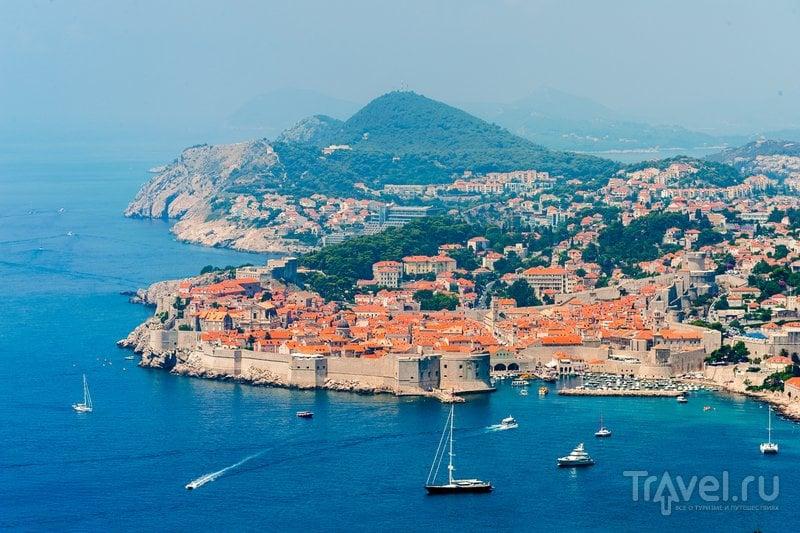 Вид на Дубровник - Королевскую Гавань