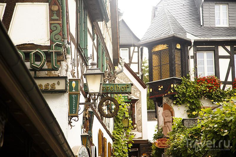 Золото Рейна. Дроссельгассе, Нидервальд и фестиваль вина в Рюдесхайме / Германия