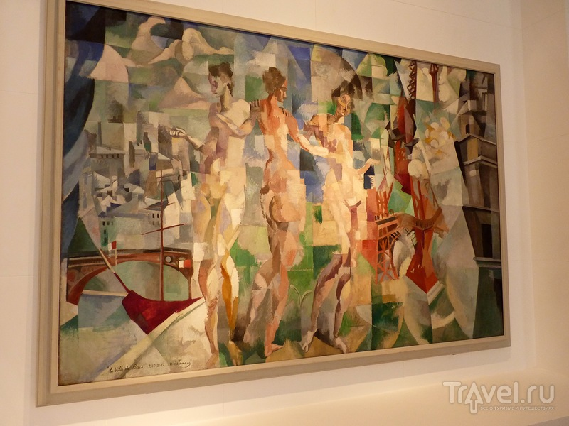 Токийский дворец и Музей современного искусства Парижа