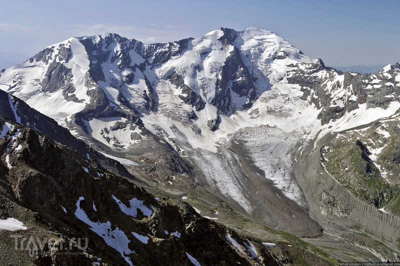 О вершинах Кавказа. Штавлер и Гвандра / Фото из России