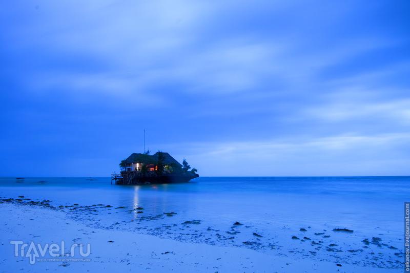 Самый романтичный ресторан / Фото из Танзании