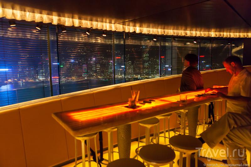 10 баров Гонконга с лучшим видом
