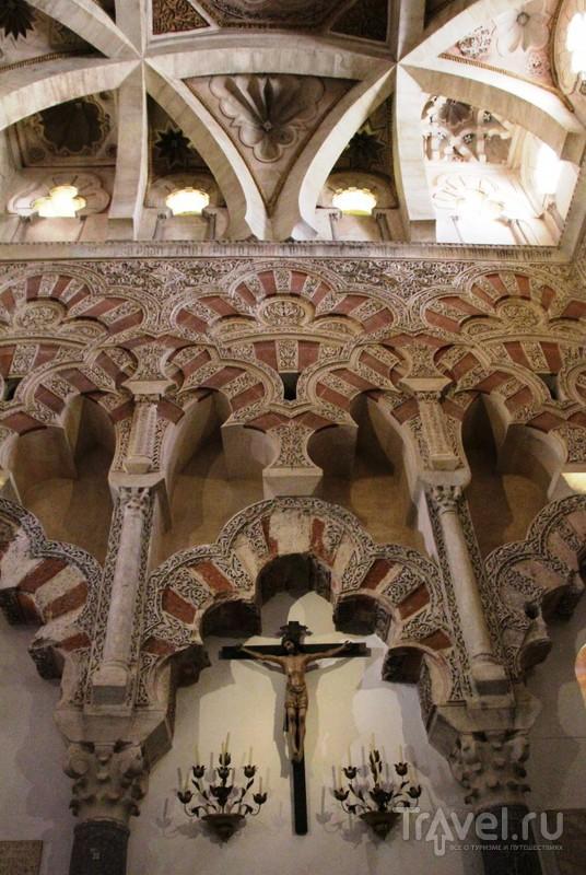 Мескита - Мечеть-Собор в Кордове. Собор / Испания