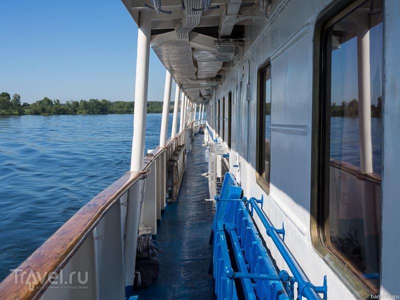 Енисей, о теплоходе и маршруте / Россия
