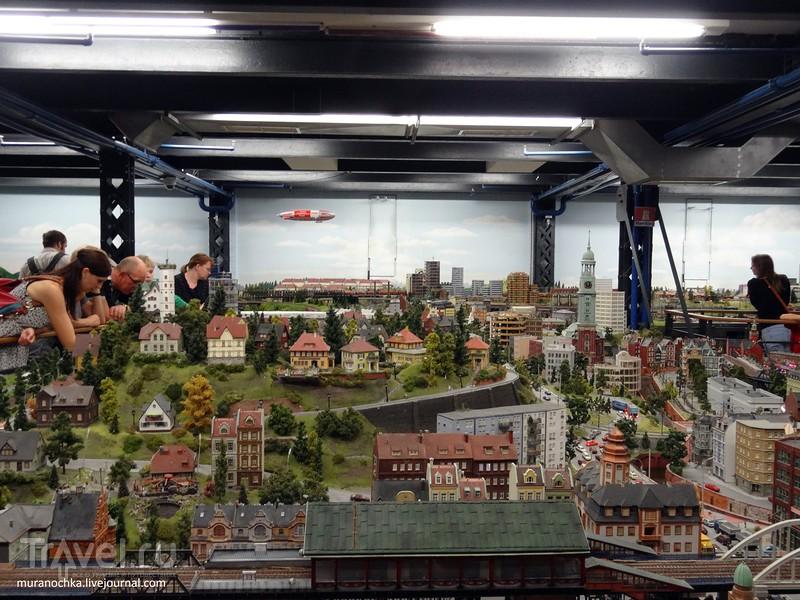 Страна чудес находится в Гамбурге, но только она миниатюрная / Германия