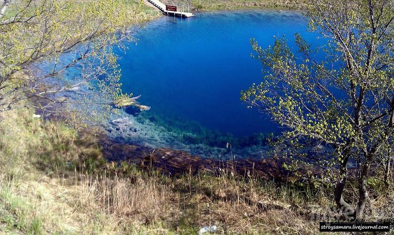 Голубое озеро, Самарская область / Россия