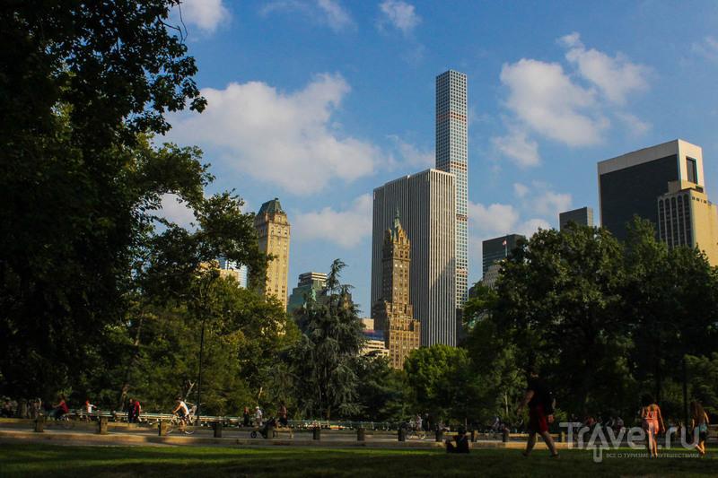 Центральный парк в Нью-Йорке / США