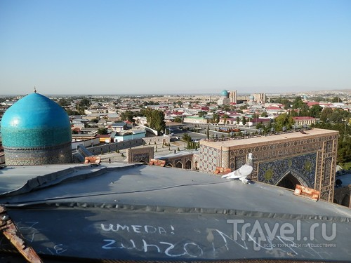 Самарканд, экскурсия по достопримечательностям / Узбекистан