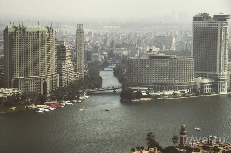 Каир с высоты птичьего полёта / Египет