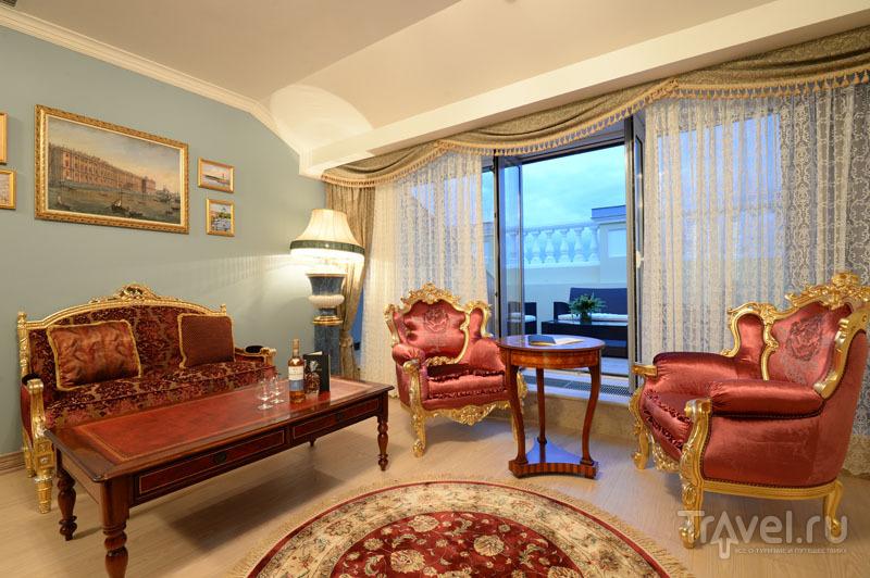 Терраса в номере River Premier Suite