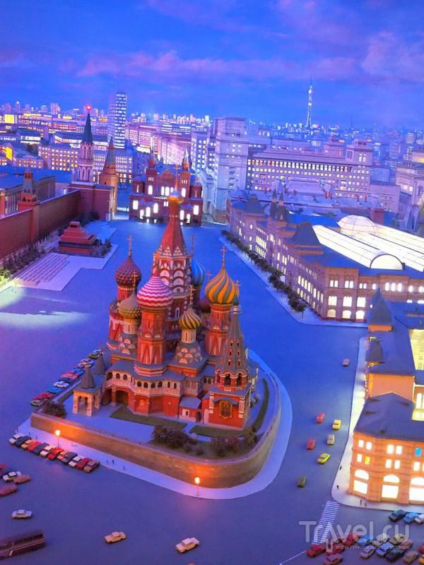 Москва, 1977 год. Миниатюрная копия