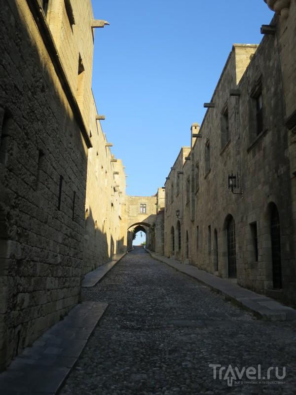 Средневековый Родос. Старый город / Фото из Греции