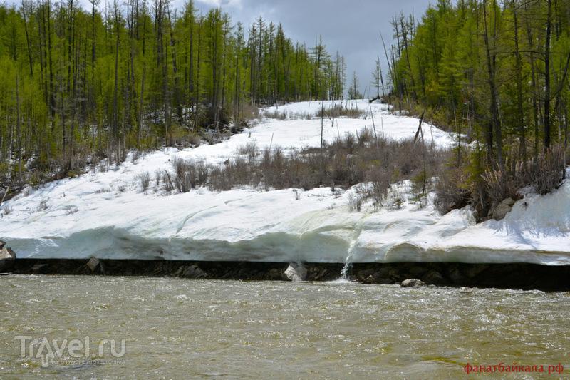 Белые нити Прибайкалья. Бурная вода