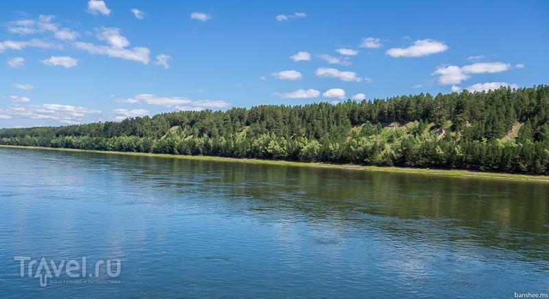 Енисей, от Железногорска до Казачинского порога / Фото из России