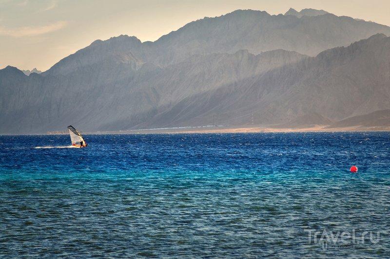 Виндсерфинг в заливе Акаба