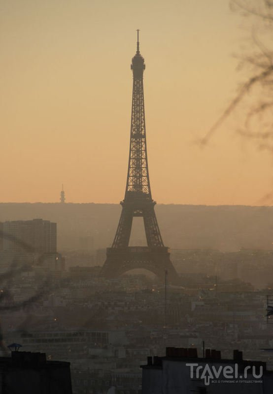 Прогулки по Парижу. Немного Монмартра / Франция