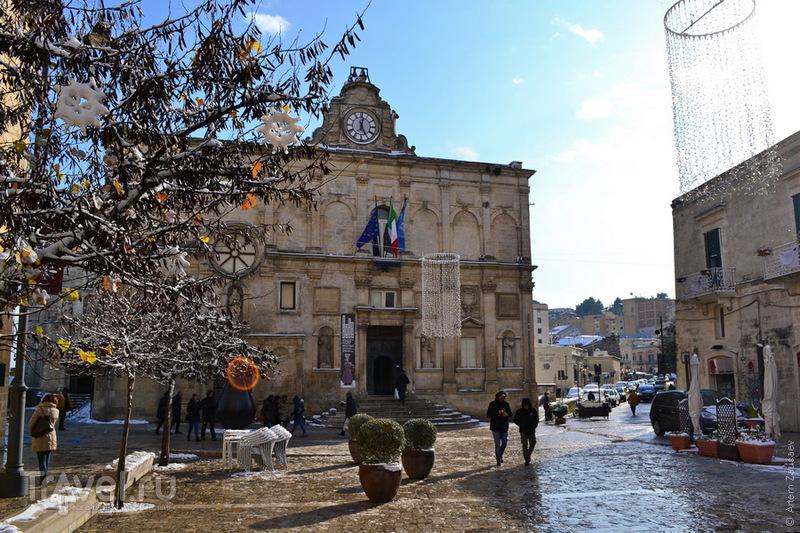 Италия. Матера. Декабрь 2014 / Фото из Италии