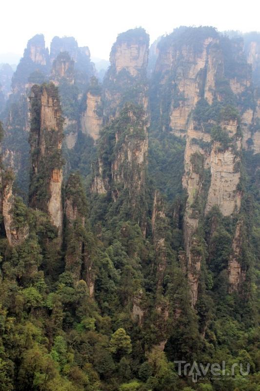 """Китай: национальный парк Чжанцзяцзе (""""горы Аватара"""") / Китай"""