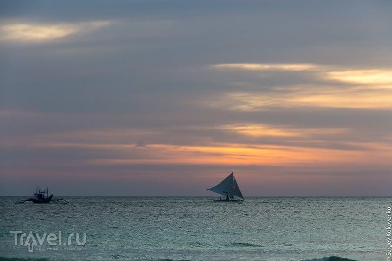 Боракай: рыбный рынок, остров со смотровой площадки и нереальный закат / Фото с Филиппин