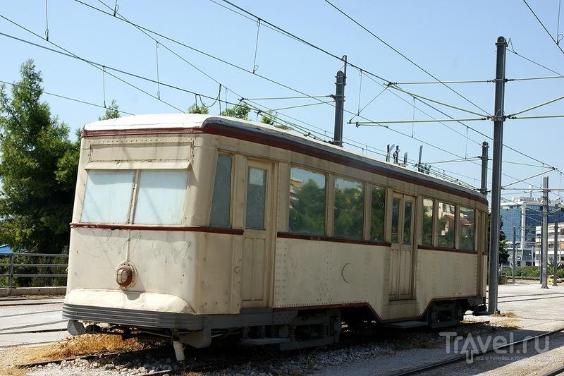 Трамваи, автобусы и троллейбусы Афин